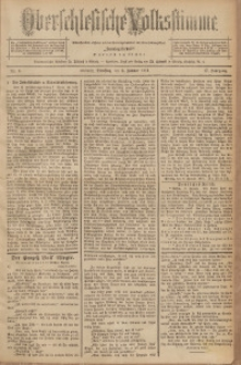 Oberschlesische Volksstimme, 1891, Jg. 17, Nr. 4