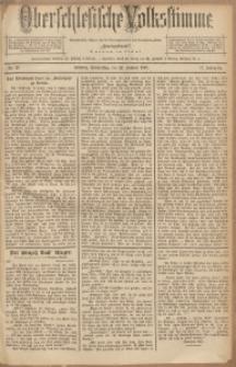Oberschlesische Volksstimme, 1891, Jg. 17, Nr. 17