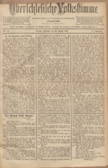 Oberschlesische Volksstimme, 1891, Jg. 17, Nr. 22