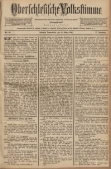 Oberschlesische Volksstimme, 1891, Jg. 17, Nr. 58