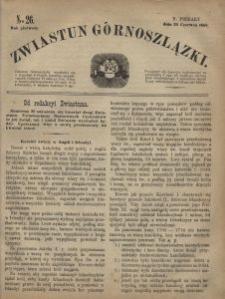 Zwiastun Górnoszlązki, 1868, R. 1, nr 26