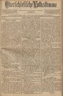 Oberschlesische Volksstimme, 1891, Jg. 17, Nr. 72