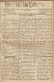 Oberschlesische Volksstimme, 1891, Jg. 17, Nr. 82
