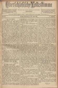Oberschlesische Volksstimme, 1891, Jg. 17, Nr. 96