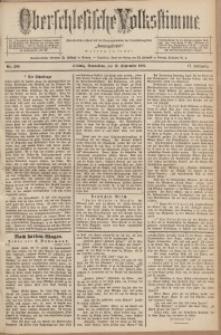 Oberschlesische Volksstimme, 1891, Jg. 17, Nr. 208