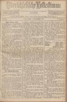 Oberschlesische Volksstimme, 1891, Jg. 17, Nr. 219