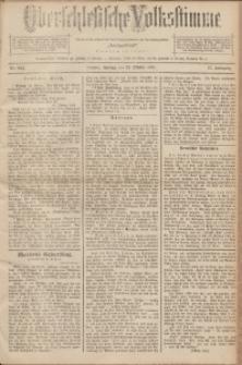 Oberschlesische Volksstimme, 1891, Jg. 17, Nr. 243