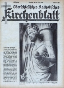 Oberschlesisches Katholisches Kirchenblatt, 1939, Jg. 4, Nr. 28