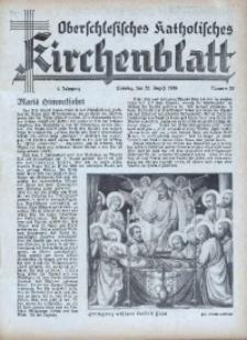 Oberschlesisches Katholisches Kirchenblatt, 1939, Jg. 4, Nr. 33