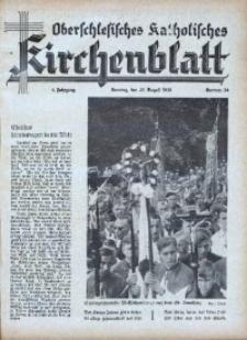 Oberschlesisches Katholisches Kirchenblatt, 1939, Jg. 4, Nr. 34