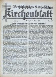 Oberschlesisches Katholisches Kirchenblatt, 1939, Jg. 4, Nr. 39