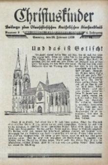 Christuskinder. Beilage zum Oberschlesischen Katholischen Kirchenbaltt, 1939, Jg. 4, Nr. 9