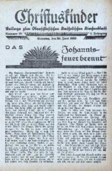 Christuskinder. Beilage zum Oberschlesischen Katholischen Kirchenbaltt, 1939, Jg. 4, Nr. 26