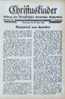 Christuskinder. Beilage zum Oberschlesischen Katholischen Kirchenbaltt, 1939, Jg. 4, Nr. 30
