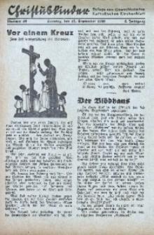 Christuskinder. Beilage zum Oberschlesischen Katholischen Kirchenbaltt, 1939, Jg. 4, Nr 36