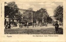 Oppeln. Neue Regierung m. Kaiser Wilhelm-Denkmal