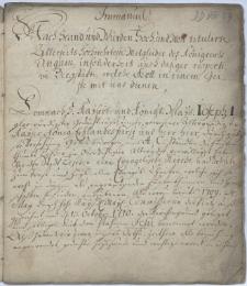 Odezwa przełożonych Kościoła Jezusowego w Cieszynie z 1.09.1711 r. do ewangelików w Królestwie Węgier z prośbą o finansowe wsparcie wyposażenia Kościoła Jezusowego oraz szkoły