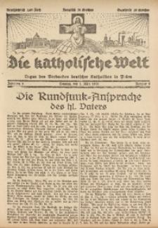 Die Katholische Welt, 1931, Jg. 6, Nr. 9