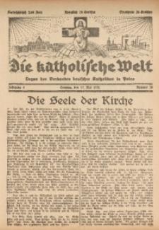 Die Katholische Welt, 1931, Jg. 6, Nr. 20