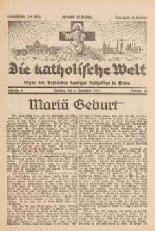 Die Katholische Welt, 1931, Jg. 6, Nr. 36