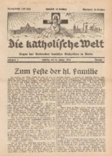 Die Katholische Welt, 1932, Jg. 7, Nr. 2
