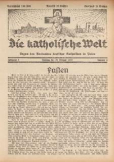 Die Katholische Welt, 1932, Jg. 7, Nr. 9