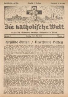 Die Katholische Welt, 1932, Jg. 7, Nr. 18