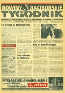Nowiny Raciborskie. R. 5, nr 1 (203).