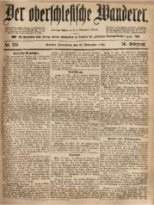 Der Oberschlesische Wanderer, 1883, Jg. 56, Nr. 219