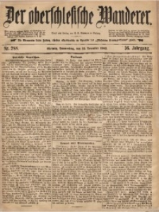 Der Oberschlesische Wanderer, 1883, Jg. 56, Nr. 288
