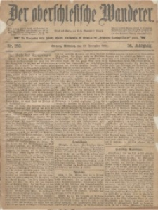 Der Oberschlesische Wanderer, 1883, Jg. 56, Nr. 293