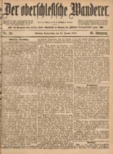 Der Oberschlesische Wanderer, 1884, Jg. 56, Nr. 20