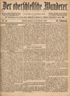 Der Oberschlesische Wanderer, 1884, Jg. 56, Nr. 35