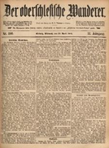 Der Oberschlesische Wanderer, 1884, Jg. 57, Nr. 100