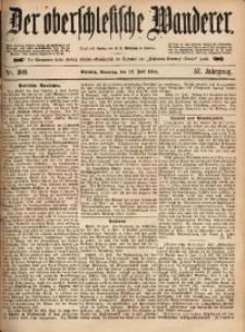 Der Oberschlesische Wanderer, 1884, Jg. 57, Nr. 160