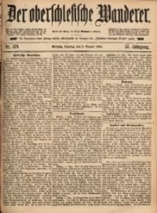 Der Oberschlesische Wanderer, 1884, Jg. 57, Nr. 179