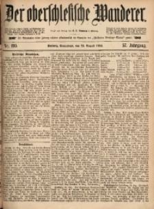Der Oberschlesische Wanderer, 1884, Jg. 57, Nr. 195
