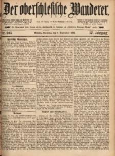 Der Oberschlesische Wanderer, 1884, Jg. 57, Nr. 203