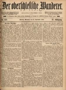 Der Oberschlesische Wanderer, 1884, Jg. 57, Nr. 222