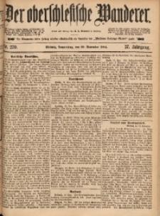 Der Oberschlesische Wanderer, 1884, Jg. 57, Nr. 270