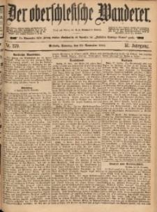 Der Oberschlesische Wanderer, 1884, Jg. 57, Nr. 279