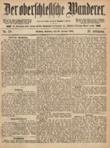 Der Oberschlesische Wanderer, 1885, Jg. 57, Nr. 20
