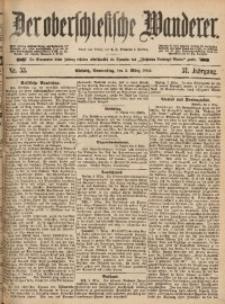 Der Oberschlesische Wanderer, 1885, Jg. 57, Nr. 53