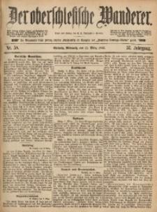 Der Oberschlesische Wanderer, 1885, Jg. 57, Nr. 58