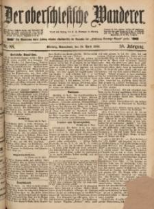 Der Oberschlesische Wanderer, 1885, Jg. 58, Nr. 88