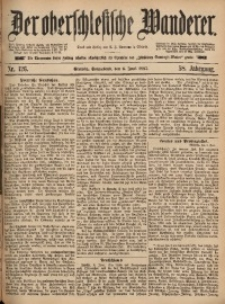 Der Oberschlesische Wanderer, 1885, Jg. 58, Nr. 126