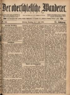 Der Oberschlesische Wanderer, 1885, Jg. 58, Nr. 151