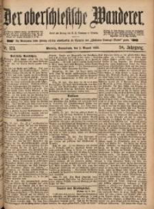 Der Oberschlesische Wanderer, 1885, Jg. 58, Nr. 173