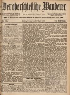 Der Oberschlesische Wanderer, 1885, Jg. 58, Nr. 196