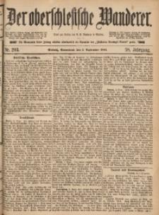 Der Oberschlesische Wanderer, 1885, Jg. 58, Nr. 203